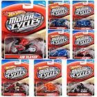 Hot Wheels Speed Cycles 1/64 Push Around Motorcycle And Rider For Ages 3+ NEW