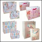 BUTTERFLY or BABY Design Gift Bags with Tag - 2 Sizes SMALL or MEDIUM