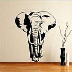 African Elephant Walking Safari Animal Jungle Wall Sticker Art Design Mural A48