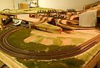 Granite Gorge & Northern Extended HO Train Layout scenery ready -LOCAL PICK UP