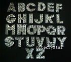 1300pcs A-Z DIY Slide Letters With Rhinestone Alphabet Charms Fit Pet Name Tags