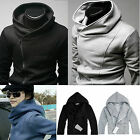 Mens Stylish Zipper Hoodied Sweater Sweatshirt Jacket Cardigan Casual Tops Coats