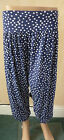 Fab Ladies Harem Ali Baba Pants Trousers Gt 4 Summer Various Patterns 8 to 16