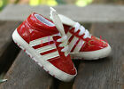 Infant Baby Gril Boy Red Soft Sole Sport Shoes Sneaker Size Newborn to 18 Months