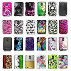 For Samsung Galaxy S2 T989 Hercules T-Mobile Leopard Flower Design Hard Cover