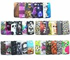 For HTC ONE X AT&T Flower Leopard Skull Design Hard Cover Case