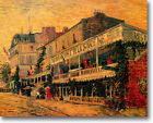 HUGE Van Gogh Restaurant Sirene Asniers Stretched Canvas Giclee Repro ALL SIZES
