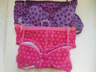 PrettyGirl  Bra /Knickers Set Purple Flowers/Pink Hearts 7-8 / 10-12 / 14-16 yrs