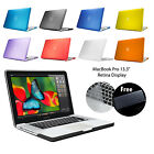 Frosted Matte Rubberized Hard Case Cover for Apple Macbook Pro RetinaDisplay 13'
