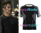 Iron Man 3 Avengers Arc-Reactor T-Shirt Tony Stark Ironman Film/Movie Cosplay