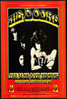 THE DOORS.. Vintage 1970 Retro Concert Promotional Poster A1A2A3A4Sizes