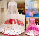 New HOT! Elegant Round Lace Curtain Dome Bed Canopy Netting Mosquito Net M0721