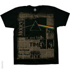 New PINK FLOYD Dark Side Headlines T Shirt