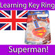 OREGON SCIENTIFIC INTERACTIVE SUPERMAN KEYCHAIN LEARNING PRODUCT