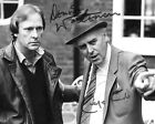 GEORGE COLE AND DENNIS WATERMAN (MINDER) SIGNED PHOTO PRINT 01