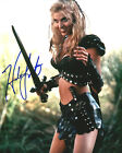 HUDSON LEICK (XENA WARRIOR PRINCESS) SIGNED PHOTO PRINT 03