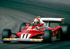 NIKI LAUDA 01 (DIJON 1977) PHOTO PRINT