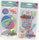 U CHOOSE  Jolee's BEACH BALL with words SHOVEL BUCKET with words 3D Stickers