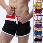 Sexy Men's Boxer Sports Shorts Rope Tie Underwear New Suit Briefs S M L XL Size