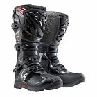 NEW FOX RACING COMP 5 MOTOCROSS MX DIRT BIKE BOOTS BLACK BLK ALL SIZES