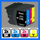 8PK COMPATIBLE LC985BK C M Y INK CARTRIDGE FOR Brother Series Printer