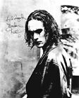 BRANDON LEE (THE CROW) SIGNED PHOTO PRINT 03