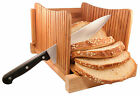 DB-Tech Compact Foldable Bread Slicer Cutter - Slices 3 sizes of thickness