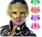 Fashion Half Face Party Masquerade Plastic Hollow Fancy Dress Dancing Party Mask
