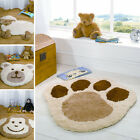 Nursery Childrens Rugs Teddy Monkey Puppy Stars Dots Bedroom Kids Thick Soft Rug