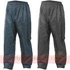 Mens Ladies Breathable Waterproof Rain Hiking Motorcycle Over Trousers Bottoms