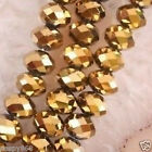 wholesale Gold Swarovski Crystal Faceted Bead 4-12mm
