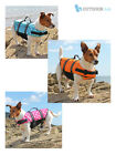 Dog Life Jacket Swimming Float Vest Buoyancy Aid Pet XS - XL
