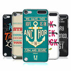 HEAD CASE CHRISTIAN TYPOGRAPHY BACK CASE COVER FOR APPLE iPOD TOUCH 5G 5TH GEN