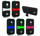 For Huawei Prism 2 II U8686 T-Mobile Cover Heavy Duty Kickstand Hard Soft Case