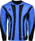 New Admiral BAYERN Adult S-XL PADDED Soccer GOALIE GOAL JERSEY Shirt Italy Blue