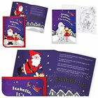 PERSONALISED CHILDRENS BOYS GIRLS CHRISTMAS GIFT STORY OR COLOURING BOOK PRESENT