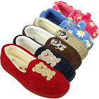 New Ladies Moccasin Slipper Warm Luxury Moccasins Slippers Womens UK 3 4 5 6 7 8