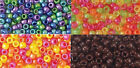 Acrylic Pony Beads  *Opaque Brown OR Pearl Or Sparkle Mixes  *