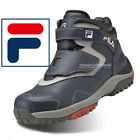 New Mens Black Zipper Safety Work Boots Steel Toe Cap (Made in Korea) NWT