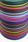 x2,x5,x10,x25 Metres Of 20mm Polyester Air Webbing In 21 Various Colours,Soft