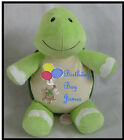 TURTLE CUBBIE WITH PERSONALIZED EMBROIDERY