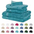 Luxury Soft Bamboo Bathroom Bath Linen Face Cloth Flannel Sheet Towel Bale Set