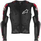 NEW ALPINESTARS BIONIC PRO JACKET MX DIRT BIKE PROTECTION BLACK RED ALL SIZES