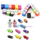 US/EU Plug Wall Car Charger Adapter fr iPhone 5S 5C 4S 3GS Galaxy S4 S3 Note 3 2