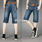 New Fashion Men's Short Jeans Top Designed Causal Jeans Straight Shorts