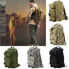 Men Outdoor Military Tactical Backpack Camping Bag Hiking Trekking Rucksacks