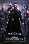 THE MATRIX (KEANU REEVES & LAURENCE FISHBURNE & CARRIE-ANNE MOSS) FILM POSTER 01