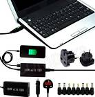 Universal Mains + Car Laptop Charger AC Power Adapter + USB For Fujitsu LifeBook