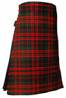 "NEW SCOTTISH 8 Yard KILT MACDONALD TARTAN 30""- 48"" Waist 16OZ WEIGHT"