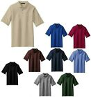 MEN'S MID-WEIGHT, EASY CARE, POLY/COTTON POLO SHIRT, POCKET, VENTS TALL, LT-4XLT